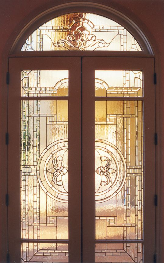 Leaded glass and gorgeous!