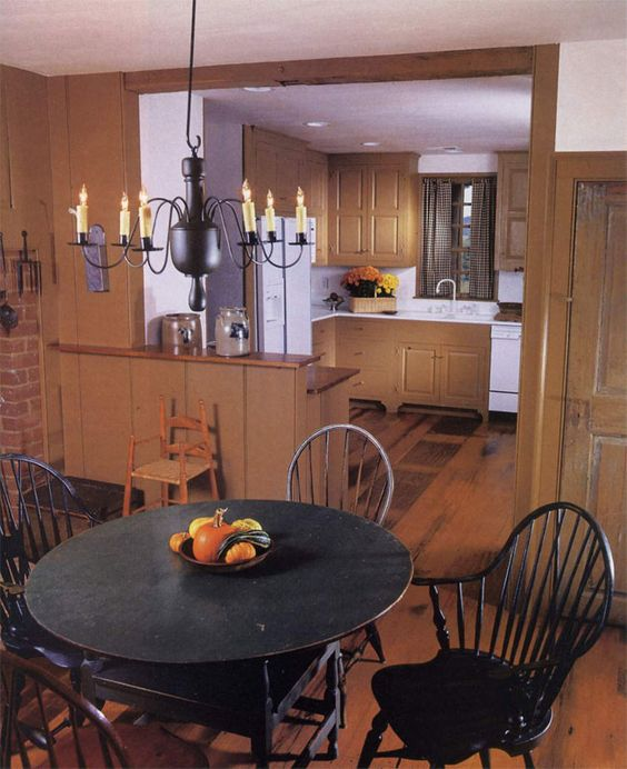 Primitive Kitchen Table And Chairs: Windsor, Primitive Kitchen And Design On Pinterest