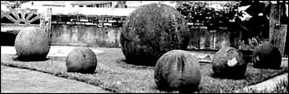 The stone spheres of Costa Rica...found in the 1930's by the United Fruit Co. as they searched for a new land for banana plantations.