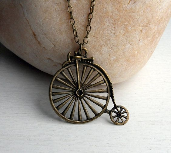 Bicycle Necklace $9.00