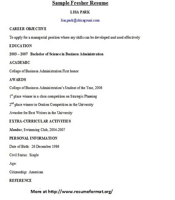 Examples Of Resumes Resume Format For College Students Best Resume Pdf  Download Cv Template To Print  How To Write A Resume College Student