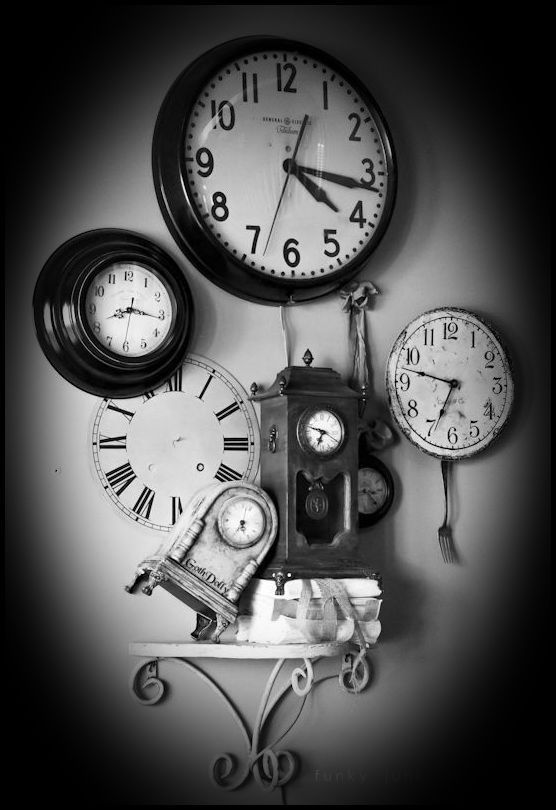 clock still life / time*¤°•.
