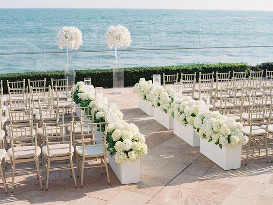 Santa Barbara Seaside Wedding  Read more - http://www.stylemepretty.com/2013/12/18/santa-barbara-seaside-wedding/
