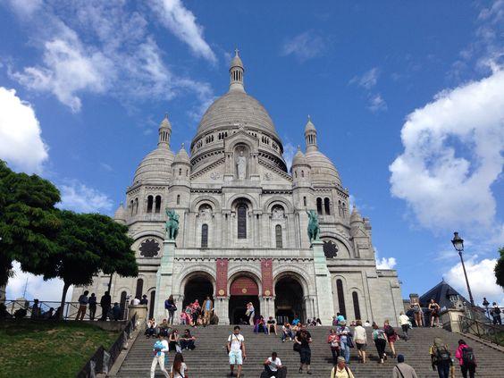 Um lugar abençoado, igreja de Sacré Couer, Paris