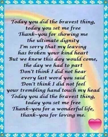 Thank you for loving me.....