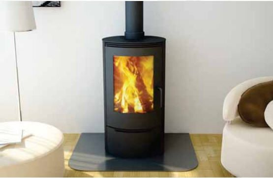 Canature Cosmo Cwf3 Wood Burning Stove Freestanding Fireplace Cosmos
