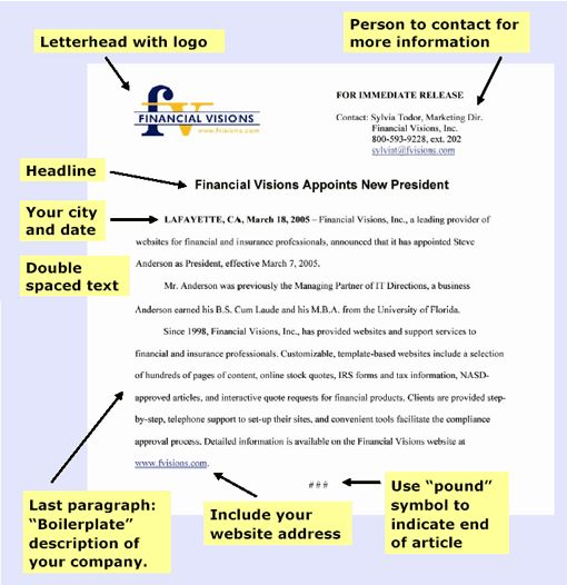 how to write a press release - Google Search Writing Pinterest - press release template sample