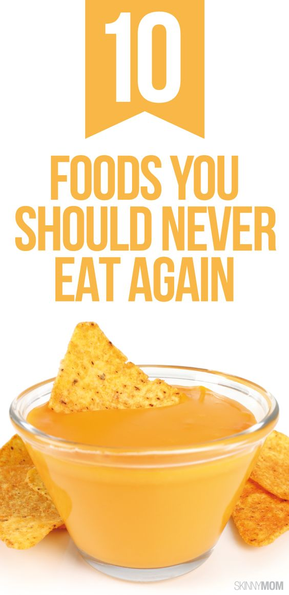 Don't touch these foods!