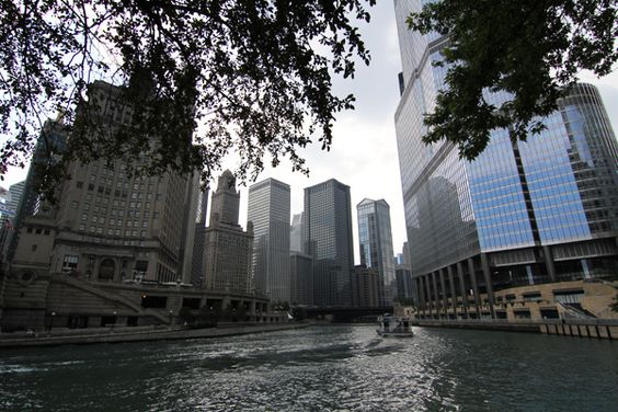 Chicago River Boat Tour - great way to see the city and learn about the architecture