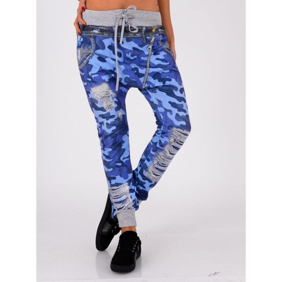 Pantalon motif militaire, 22€49
