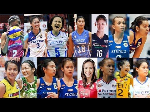 Most Followed And Popular Volleyaball Players In The Philippines Youtube Philippine Women Volleyball Beach Volleyball