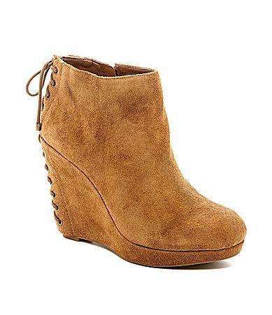 gianni bini corsette wedge boots dillards fashion