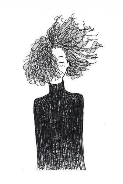 New Hair Drawing Curly Sketch 29 Ideen  - Style & Beauty #frisur #frisuren #haar #hochzeitsfrisuren #hochzeitfrisur