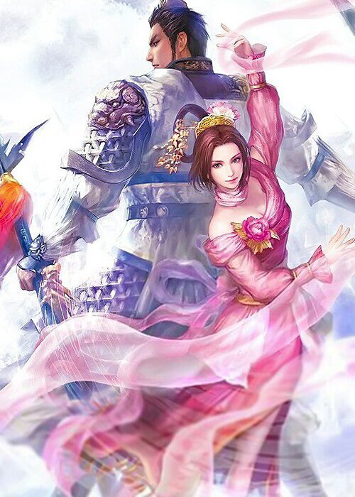 -Lu Bu & Diaochan, Dynasty Warriors