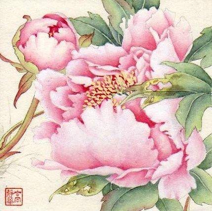"""Spring Time"" - Original Fine Art for Sale - © Jinghua Gao Dalia"