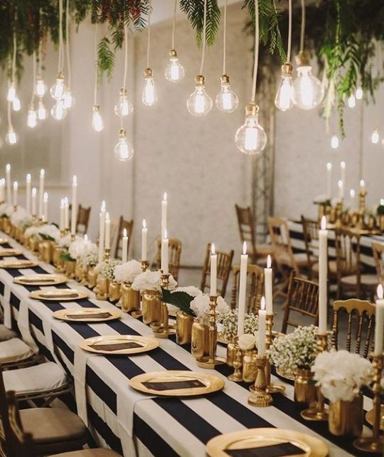 10 New Years Eve Decoration Ideas For The Ultimate Bash New Years Eve Decorations Gold Party Decorations New Year Table