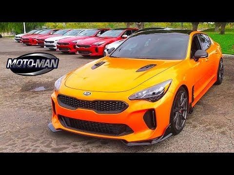 2018 Kia Stinger Gt Twin Turbo V6 First Drive Review 2 Of 2 Youtube Kia Stinger Kia Twin Turbo