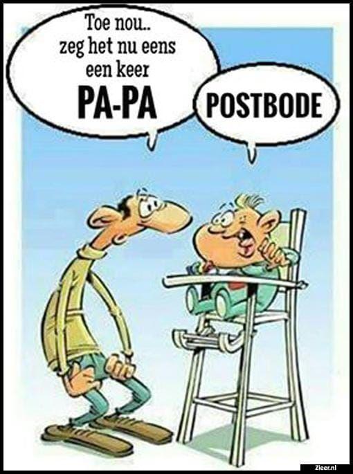 papa postbode