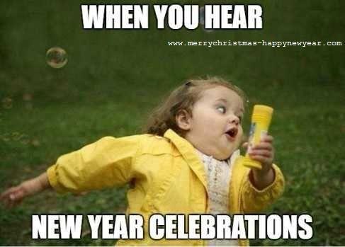 Happy New Year 2019 Funny Meme Images For Facebook Friends Mode Humor Teksten