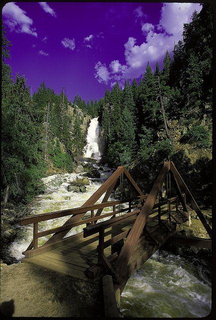 Fish creek falls by visit colorado via flickr travel for Fish creek falls