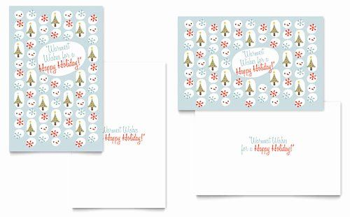 Greeting Card Template Indesign New Greeting Card Templates Indesign Illustrator Publisher Holiday Card Template Happy Holiday Cards Printable Holiday Card