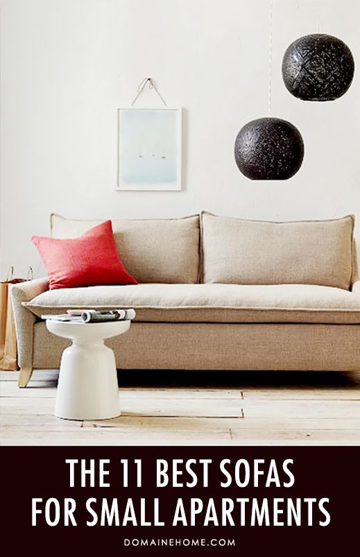 The Best Sofas For Small Apartments Illusions The O 39 Jays And Best Sofa