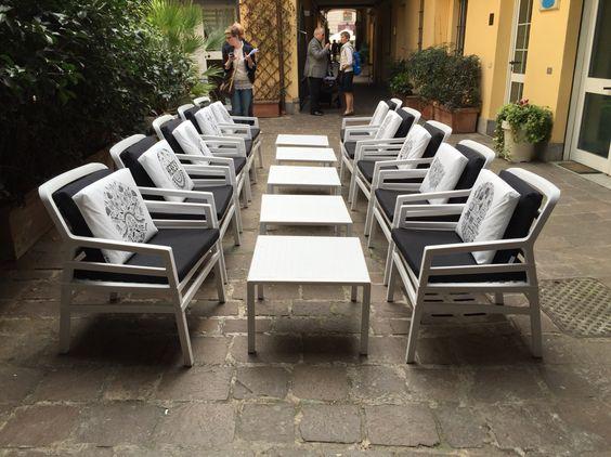 Nardi aria chair in milano italy nardi outdoor furniture for Outdoor furniture italy