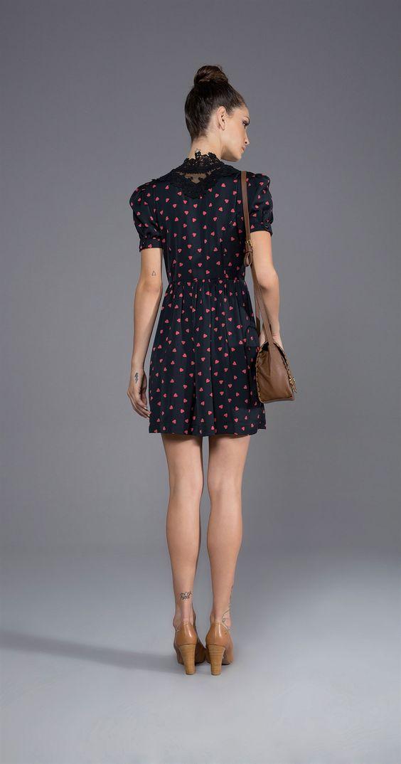 vestido antix: