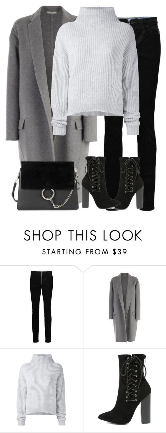 """""""Untitled #2965"""" by elenaday on Polyvore featuring Alexander Wang, CÉLINE, Le Kasha, Olivia Jaymes and Chloé"""