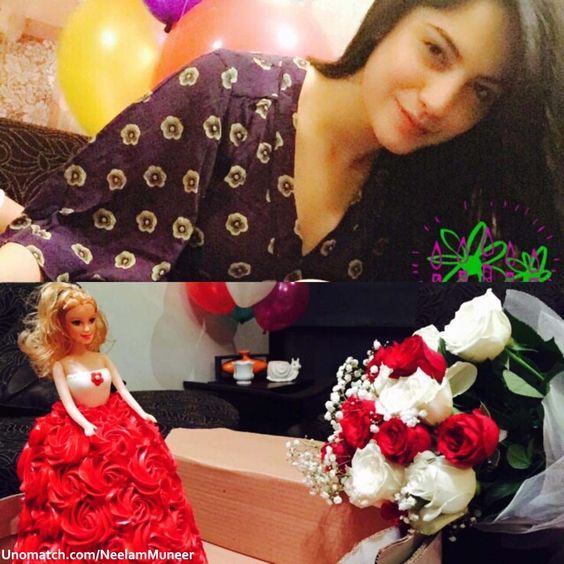 Neelam Muneer #Cute #BirthdayGirl  www.unomatch.com/pakicelebrities