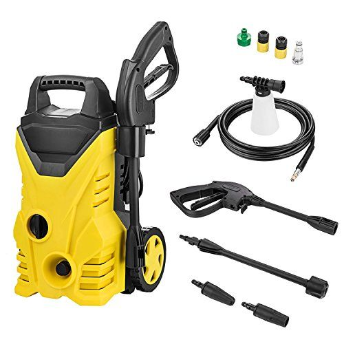 1800psi Electric High Pressure Washer 1 3gpm Pressure Washer Sprayer Cleaner Machine Review Pressure Washer Clean Machine Electric Pressure Washer