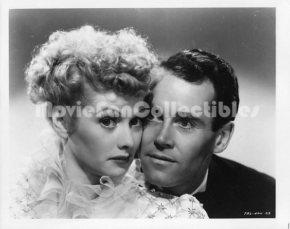The Big Street publicity photo movie Lucy Lucille Ball Henry Fonda