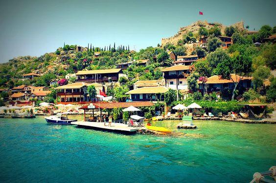 Kaleköy, Kaş, Turquía