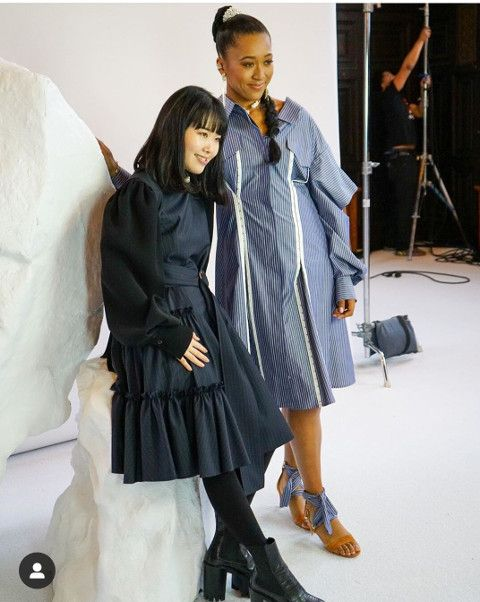 Naomi Osaka And Adeam Present Their Fall Winter 2020 Collection At New York Fashion Week Women S Tennis Blog In 2020 Fashion Fashion Week New York Fashion Week