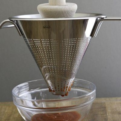 #cultivateit Rösle Conical Strainers & Pestle on Williams-Sonoma.com
