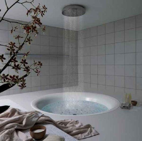 Whirlpool Bad Zelf Maken ~   dan 500 foto's, inloopdouche maken, badkamer ideeen vt wonen, Bad