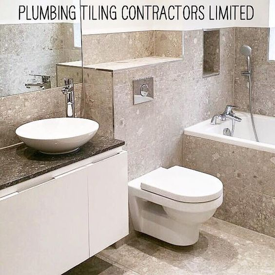 Bathrooms fitted to perfection.  Plumbing Tiling Contractors Limited #ptcltd #ptclimited