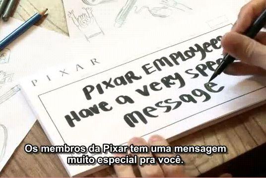 """Vídeo da campanha contra a homofobia """"It Gets Better"""" feito pela Pixar Animation Studios em apoio ao Trevor Project.."""