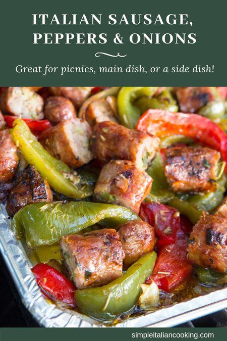 Italian Sausage, Peppers & onion