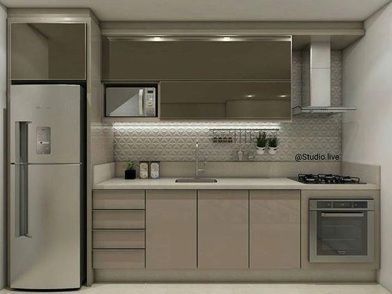 Cocinas Lineales Ideas De Decoracion De Cocinas Modernas Cocinas