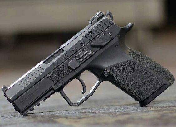 CZ P07. Cajunised  #gunsdaily #weaponsdaily #sickguns #merica #machinegun…