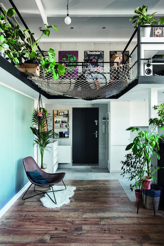 Des designers ont aménagé ce beau #loft aux murs de briques - PLANETE DECO a homes world