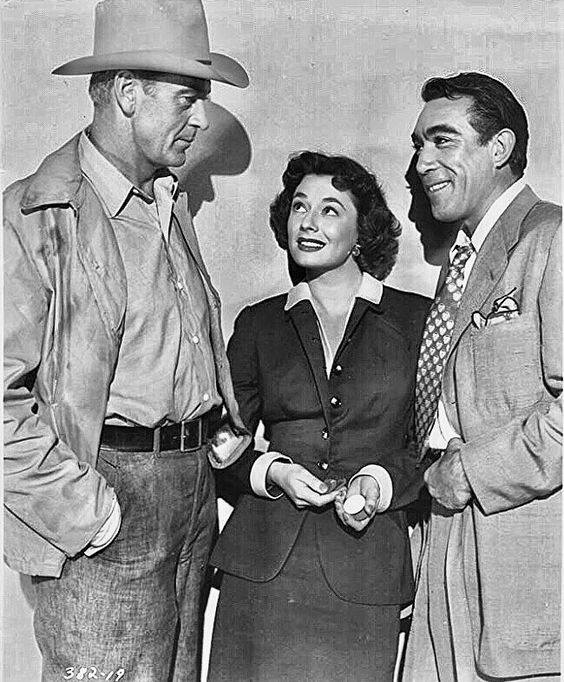 Gary Cooper, Ruth Roman & Anthony Quinn - Blowing Wild (1953)