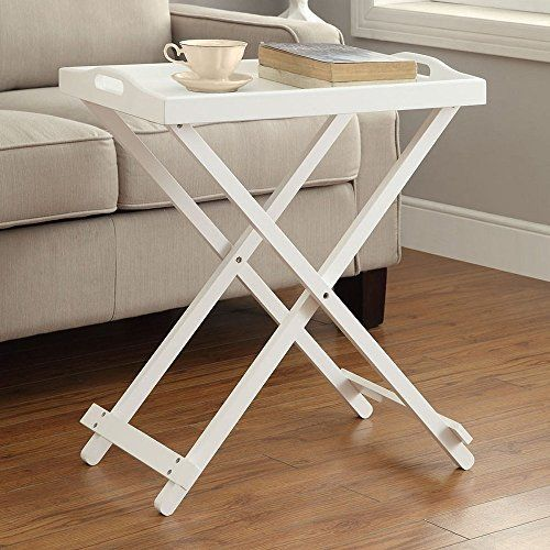 Tv Tray Tables With Removable Serving Tray Portable Table Top Folding Lightweight End Table Snack Table For Living Ro Tv Tray Table Tray Table Sofa Snack Table