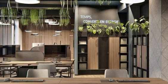 стильні офісні меблі