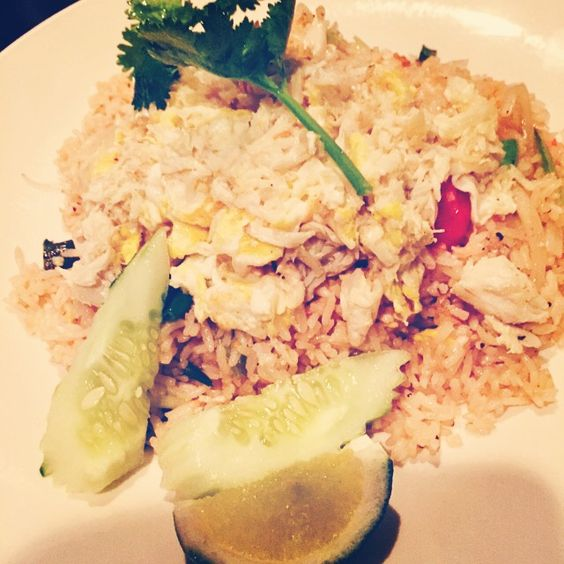 Crab Meat Fried Rice from Sabay Thai,NYC