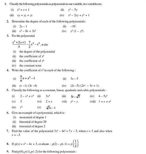 Pin On Polynomials
