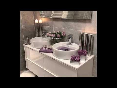 اجمل أفكار للحمامات الضيقة ديكورات حمامات صغيرة تصاميم حمامات صغيرة 2019 Youtube In 2020 Vanity Double Vanity Bathroom Vanity