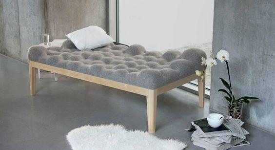 Tagesbett holz  Tagesbett Design Baumwolle Holz Gestell modern Möbel | Grafik ...