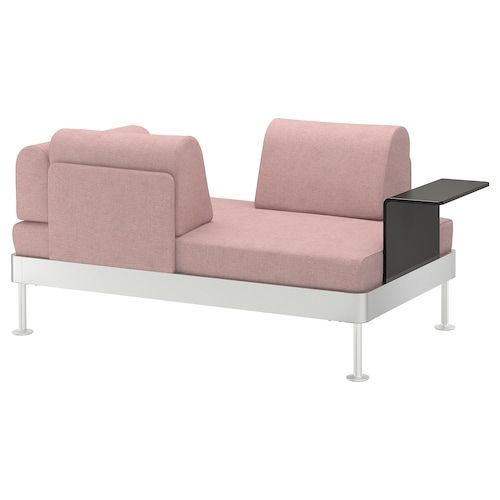 Flottebo Sleeper Sofa With Side Table Vissle Purple 47 1 4 Love Seat Sofas For Small Spaces Ikea Sofa Bed